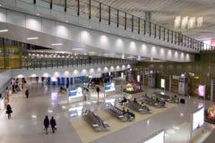 интерьер Hong Kong авиапорта Стоковое фото RF