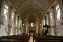 интерьер leiden церков Стоковое Фото