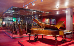 Интерьер Museu de Ла Musica de Барселоны. Испания Стоковая Фотография RF