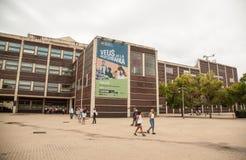 Интерьер Museu de Ла Musica de Барселоны Стоковые Фотографии RF