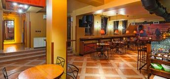 Интерьер Pub стоковое фото rf