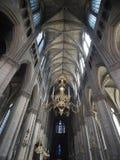 интерьер rheims Франции 2 соборов Стоковые Изображения RF