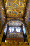 Интерьер St Peter и базилики St Paul в Pecs Венгрии стоковое изображение