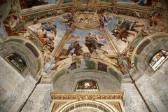 интерьер syracuse собора стоковая фотография rf