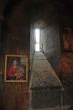 Интерьер virap клироса монастыря Армении Стоковые Изображения