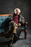 Интеллектуальный старик Стоковая Фотография RF