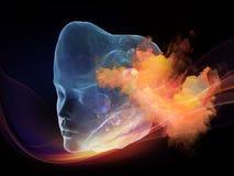 Интеллект цифров Стоковое Изображение
