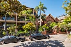 Интимный бутик-отель в Сиднее Стоковое фото RF