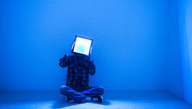 Интровертированный мыслитель Стоковое Изображение RF