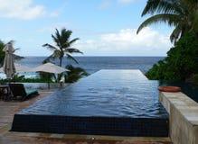 инфинитивные Сейшельские островы Стоковая Фотография RF
