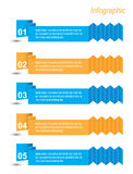 Инфографика Стоковая Фотография