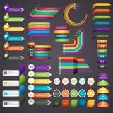 Инфографика Стоковые Изображения RF