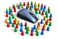 информационное общество иллюстрация вектора