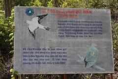 Информация подписывает внутри Вьетнам Стоковая Фотография RF