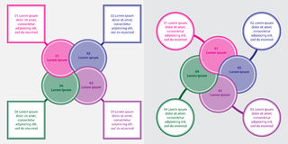 Информаци-график Стоковая Фотография RF