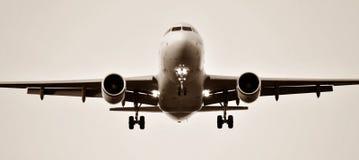 инфракрасный изображения авиапорта самолета Стоковая Фотография RF