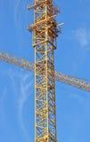 Инфраструктура башни крана Стоковые Изображения RF