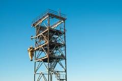 Инфраструктура гавани реки Стоковое фото RF