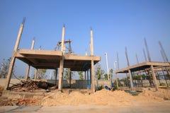 Инфраструктура здания под конструкцией Стоковое Фото