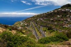 Инфраструктура острова Мадейры Стоковое Изображение RF