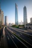 инфраструктура самомоднейший shanghai Стоковое Изображение RF