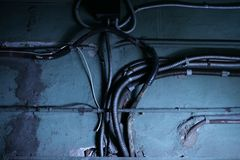 инфраструктура старая Стоковое фото RF