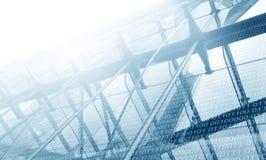 Инфраструктура цифров Стоковая Фотография