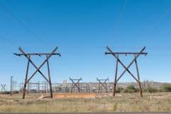 Инфраструктура электричества Стоковая Фотография