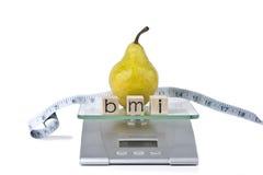 Индекс массы тела Стоковое Фото