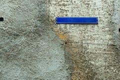 Индекс, плита, имя, направление, топография, индикатор, пробел, металлическая пластинка, строя стоковое изображение