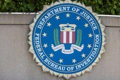 Индианаполис - около июнь 2017: ФБР основной федеральный правоохранительный орган в США i Стоковое Изображение RF