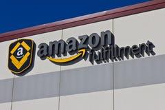 Индианаполис - около март 2016: Amazon центр выполнения com Стоковое Фото
