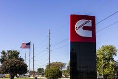 Индианаполис - около октябрь 2016: Cummins Inc изготовитель двигателей и оборудования IV производства электроэнергии стоковая фотография rf