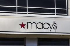 Индианаполис - около февраль 2017: Универмаг ` s Macy Macy's, Inc розничные торговцы Omnichannel премьер-министра Nation's VI стоковые фото