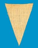 Индивидуальные вымпел ткани или флаг строки Стоковое Изображение RF