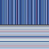 Индиго stripes предпосылка в картине вектора безшовной Стоковое Фото