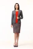 Индийская азиатская восточная женщина руководителя бизнеса брюнет Стоковая Фотография RF
