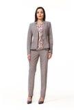 Индийская азиатская восточная женщина руководителя бизнеса брюнет Стоковое Фото