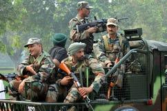 Индийская армия Стоковые Изображения