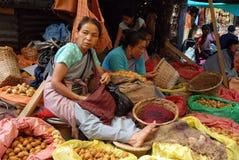 индийская базарная площадь Стоковые Фотографии RF