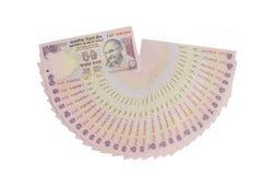 Индийская валюта Стоковое фото RF