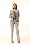 Индийская восточная женщина руководителя бизнеса брюнет Стоковая Фотография RF