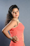 Индийская девушка стоковые изображения rf