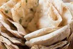 Индийская еда кухни Стоковые Изображения