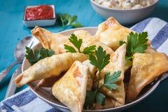 Индийская еда Стоковая Фотография