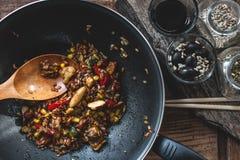 Индийская еда Стоковые Фотографии RF