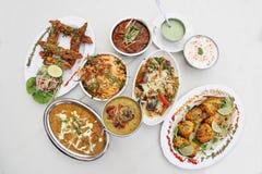 Индийская еда Стоковые Фото