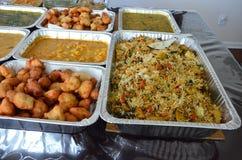 Индийская еда стоковое фото rf