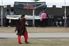 Индийская еда Ishina Стоковое фото RF