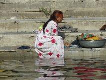 индийская женщина Стоковое фото RF